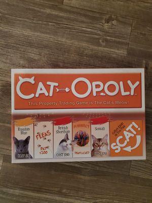 Cat-opoly Board game for Sale in Chula Vista, CA
