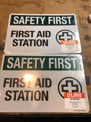 First aid signs for Sale in Ontario, CA