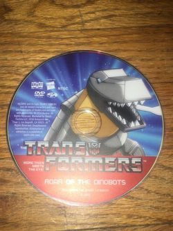 Transformers Original Series Roar Of The Dinobots DVD for Sale in Whittier,  CA