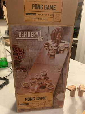 New Refinery And Company Wooden Pong Game Foldable Table Top Size for Sale in Virginia Beach, VA