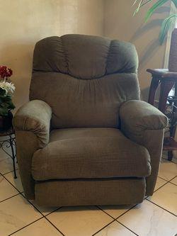 green La-Z-Boy recliner/rocker for Sale in Longview,  TX