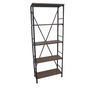 Brown Metal Bookshelves By Target Threshold for Sale in Beaverton, OR