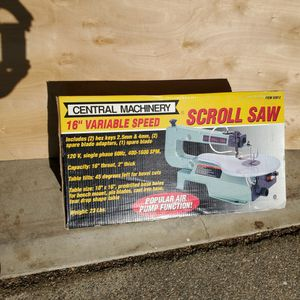 "16"" VARIABLE SPEED SCROLL SAW: UNOPENED/UNUSED for Sale in West Covina, CA"