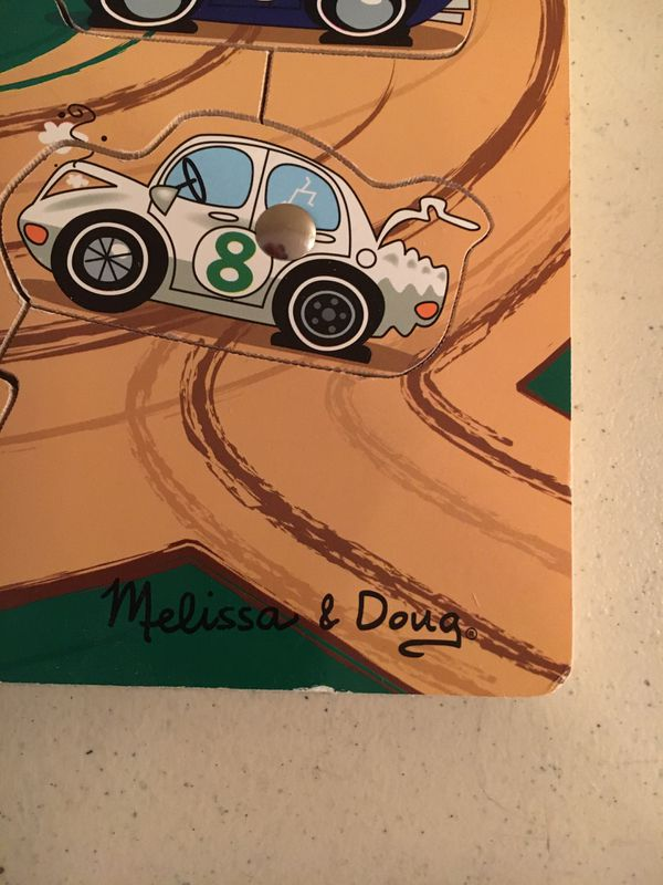 Melissa and Doug Puzzle! Tow Truck Game!
