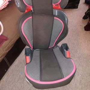 Graco Pink And Black Car Seat Adjustable Toddler And Booster Seat for Sale in Worcester, MA