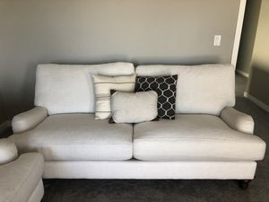 Down filled pottery barn like sofas for Sale in Bend, OR