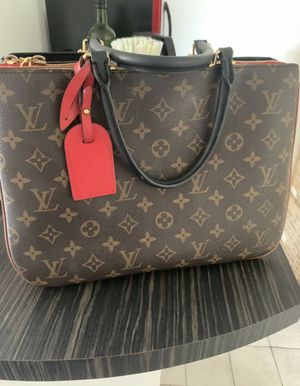 Louis Vuitton Millefeuille Two Way Shoulder Red and Brown Monogram Women's Bag for Sale in North Miami Beach, FL