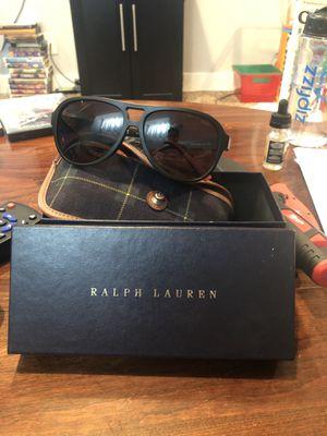 Ralph Lauren Polo sunglasses w/ case and box for Sale in Salt Lake City, UT
