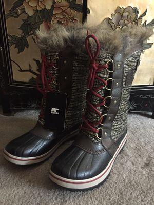 New Size 6 Women's SOREL Faux Fur Winter Rain Snow Boots for Sale in Seattle, WA