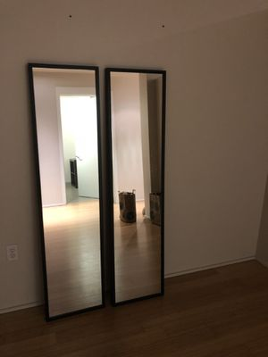 Ikea full length mirror (set of 2) for Sale in Portland, OR