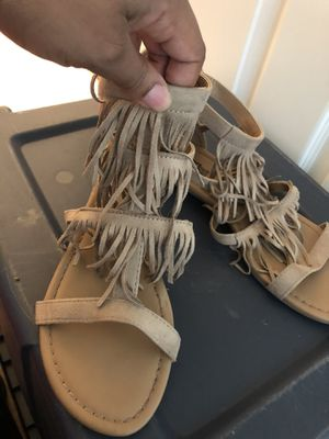 Fringe sandals for Sale in Fort Worth, TX