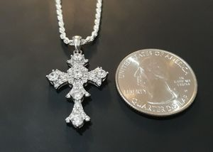 925 sterling silver Cross Necklace for Sale in Los Angeles, CA