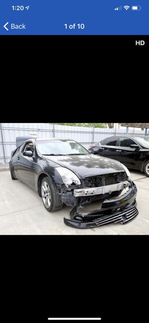 G35 coupe parting out for parts only. Brembo brakes for Sale in Rancho Cordova, CA