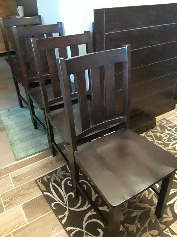 Dark Espresso Kitchen Table Set