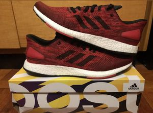 Adidas Ultra Boost Pureboost Mens Running Shoes Red White Rare for Sale in Kissimmee, FL
