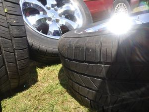 6 lug Chevy rims and tires for Sale in Tacoma, WA