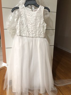 Flower Girl / First Communion Dress , size 8, brand new for Sale in Ontarioville, IL