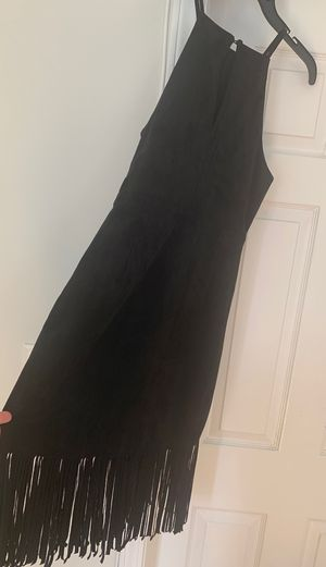 🔥New! Suede fringe black dress🔥S/M for Sale in Glenview, IL