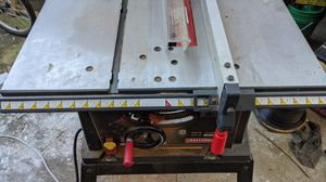 """Craftsman 10"""" table saw for Sale in Gresham, OR"""