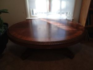 Walnut coffee table for Sale in Apex, NC