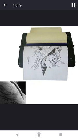 Pro Black Tattoo Transfer Copier Printer Machine for Sale in Riverside, CA