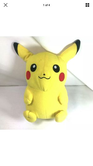 "Pokemon Go 9"" Pikachu Plush Soft Toy Stuffed Animal Cuddly Doll for Sale in Friendswood, TX"
