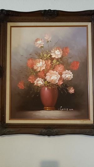 Original Robert Cox floral painting for Sale in Phoenix, AZ