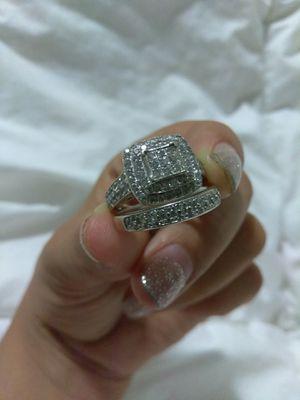 Size 7 Wedding Ring set for Sale in San Bernardino, CA