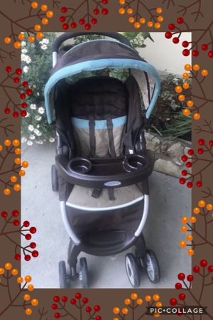 Graco stroller ( free car seat bases for Sale in Montclair, CA