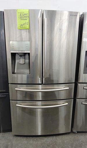 Samsung stainless steel 4 door refrigerator for Sale in Chino, CA