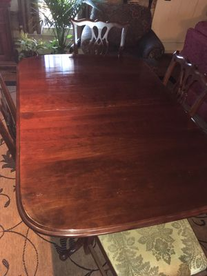 Dining table and 8 chairs for Sale in Round Hill, VA