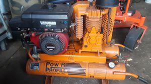 Vanguard 9 hp gasoline air compressor for Sale in New Kensington, PA