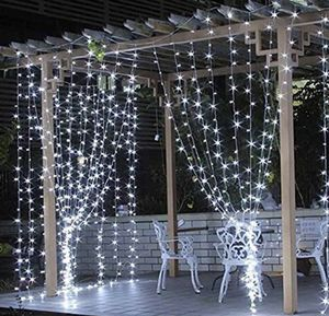 Icicle LED Curtain String Lights (New) for Sale in Splendora, TX