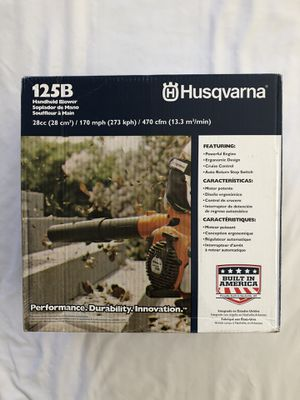 Brand new never used Husqvarna 128B 28cc gas hand held blower. for Sale in Vacaville, CA