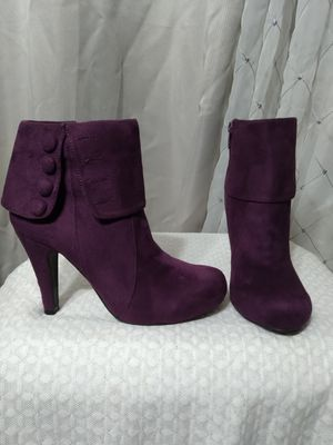 Purple Suede Boots 6 for Sale in Federal Way, WA