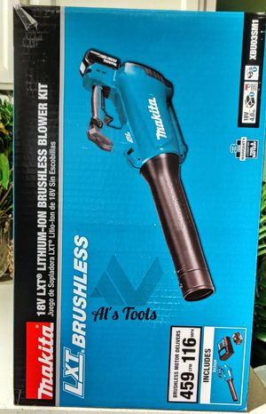 Makita 18-volt lithium-ion brushless handheld blower with 4.0 battery and charger for Sale in Paramount, CA