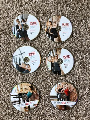 Pure Barre Exercise DVDs - $10 each or whole set for $50 for Sale in Rochester, MI