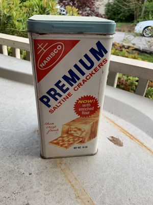 Used, Nabisco tin crackers vintage for Sale for sale  Atlanta, GA