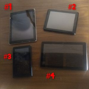 FOR PARTS OR FIX - Ipad, Tablets, Kindle - for Sale in Pueblo, CO