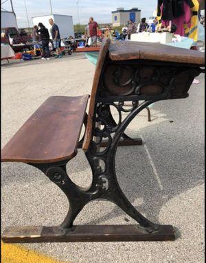 1800's DOUBLE School Desk for Sale in Berkeley, IL