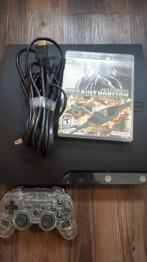 Ps3 with wireless remote and 1 game for Sale in Milwaukie, OR