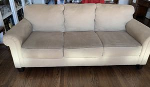 Beige sofa for Sale in Silver Spring, MD