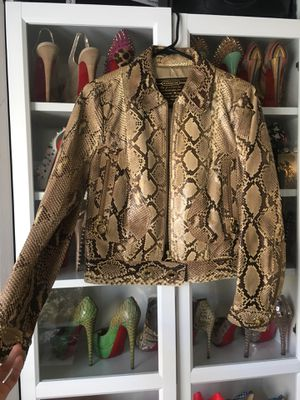 $4,000 Coach Python Skin Jacket. New with Tags for Sale in Huntington Beach, CA