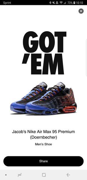 Nike air max 95 premium for Sale in Sterling, VA
