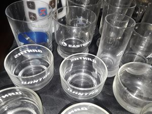 Vintage Airlines glasses for Sale in Menifee, CA