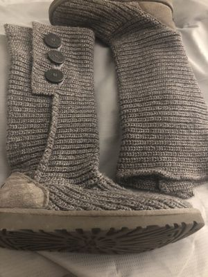 UGG Knit 3 Button Boots for Sale in Chicago, IL