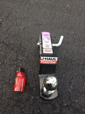 U-Haul trailer hitch and round light connector. for Sale in San Diego, CA