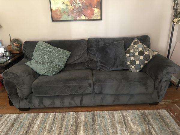 Sofa and Love Seat with Pillows MUST GO SOON! MAKE ME AN OFFER!