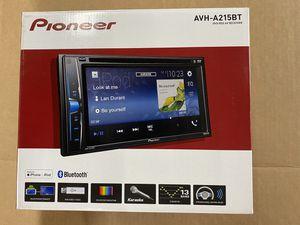 "Pioneer - 6.2"" - Built-in Bluetooth - In-Dash CD/DVD/DM Receiver - Black for Sale in Los Angeles, CA"