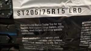 ST 205 75 15 trailer tires for Sale in Tacoma, WA